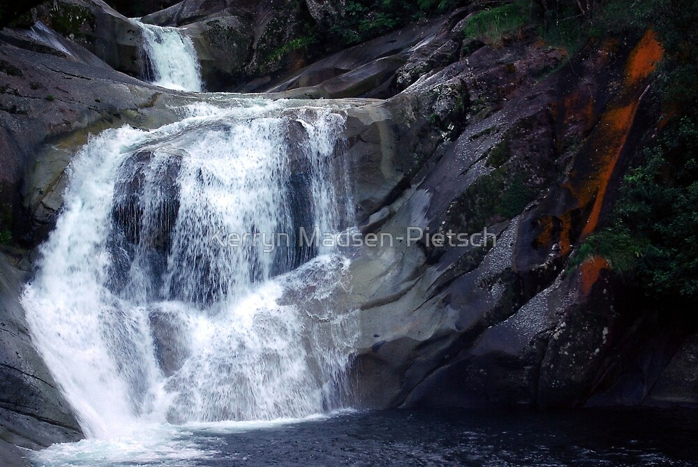 Top End of Josephine Falls, FNQ, AU by Kerryn Madsen-Pietsch