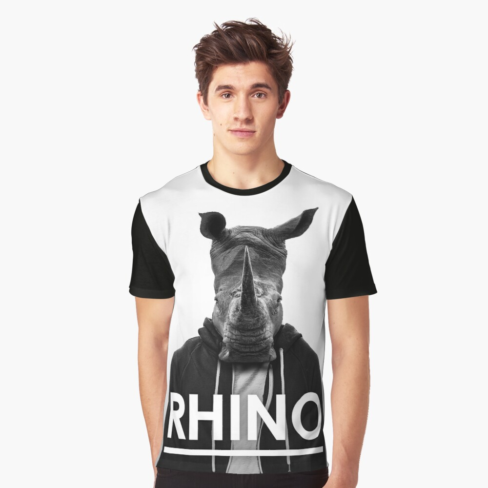 Rhino - Jack Buck  Graphic T-Shirt