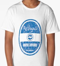 EPL - Brighton & Hove Albion (Distressed) Long T-Shirt