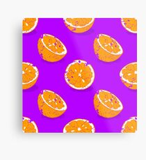 Lámina metálica naranja