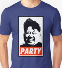 Kim Jong Un PARTY Unisex T-Shirt