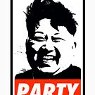 Kim Jong Un PARTY by Thelittlelord