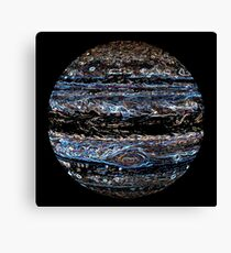 Neon Jupiter Canvas Print