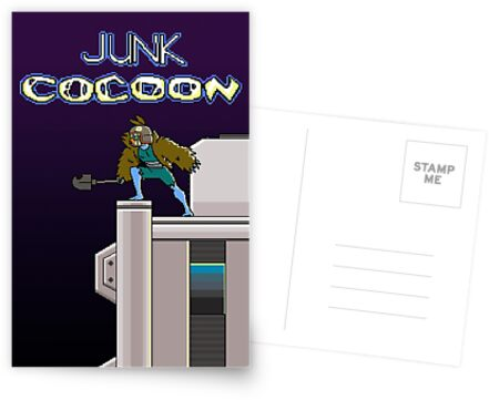 Junk Cocoon 8 Bit by RayneGallows