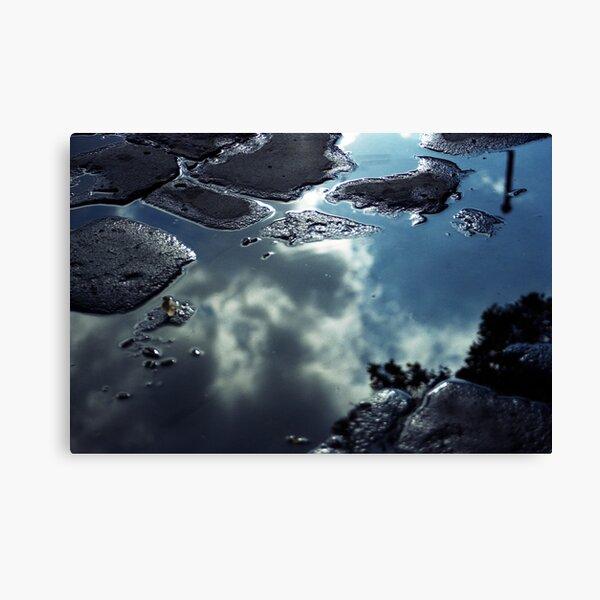 Liquid Metal Canvas Print