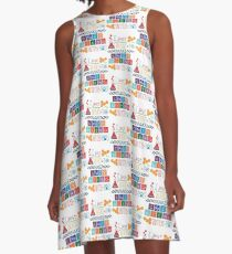 Make Crazy Science - Orphan Black A-Line Dress