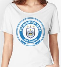 EPL - Team Huddersfield Town Women's Relaxed Fit T-Shirt