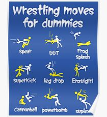 wrestling moves for dummies Poster