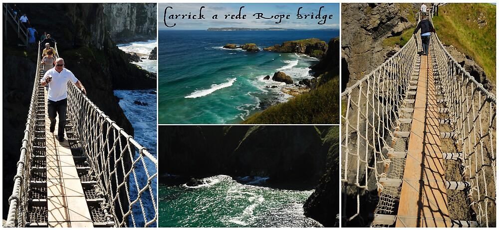 Carrickarede Rope Bridge by ragman