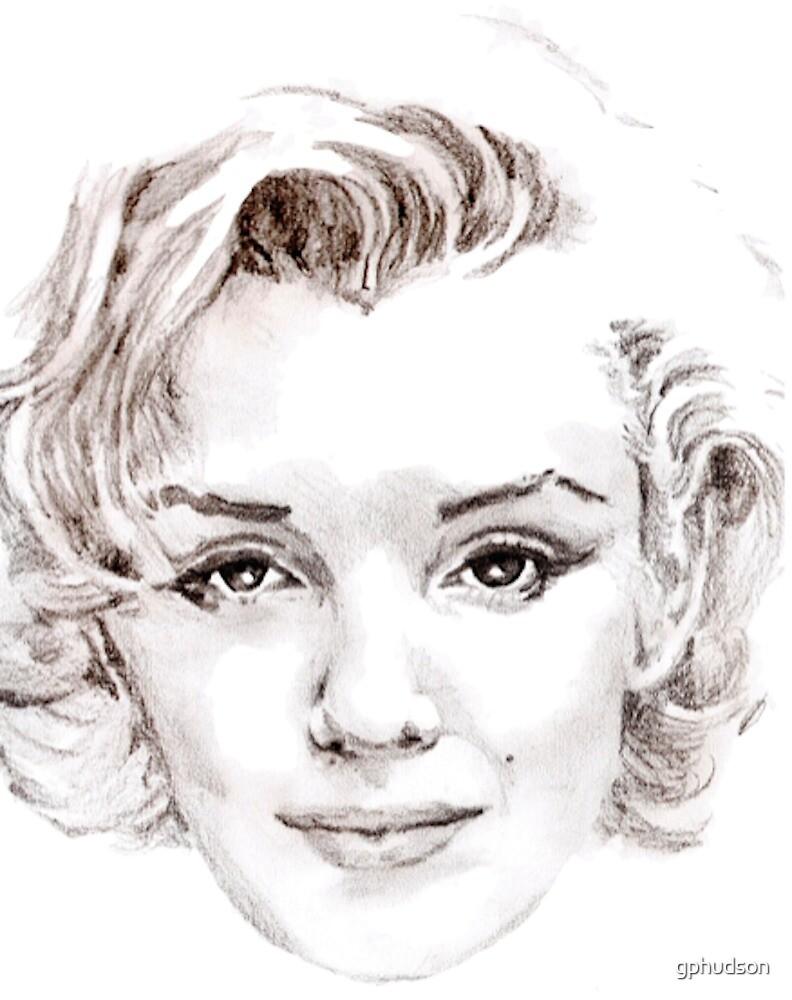 Marilyn Monroe by gphudson