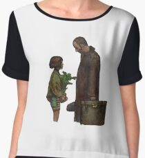 Leon The Professional Women's Chiffon Top