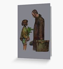 Leon The Professional Greeting Card