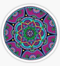 Purple Mandala Sticker