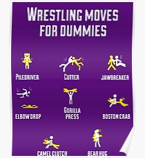 wrestling moves V2 Poster