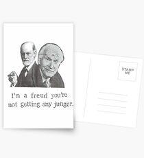 I'm A Freud You're Not Getting Any Junger Postcards