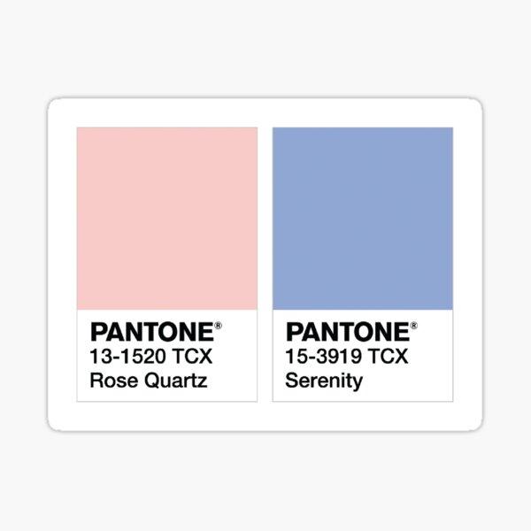 pantone colors Sticker