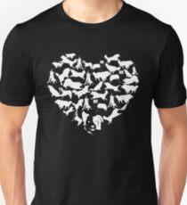 Border Collie Heart T-shirt T-Shirt