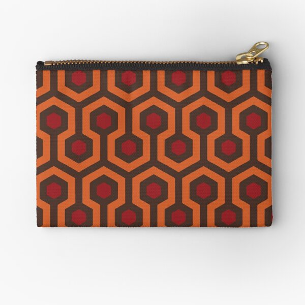 REDRUM Overlook Hotel Carpet Stephen King's The Shining Zipper Pouch