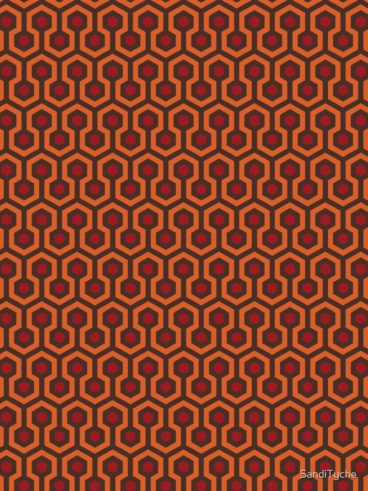 REDRUM Overlook Hotel Carpet Stephen King's The Shining by SandiTyche