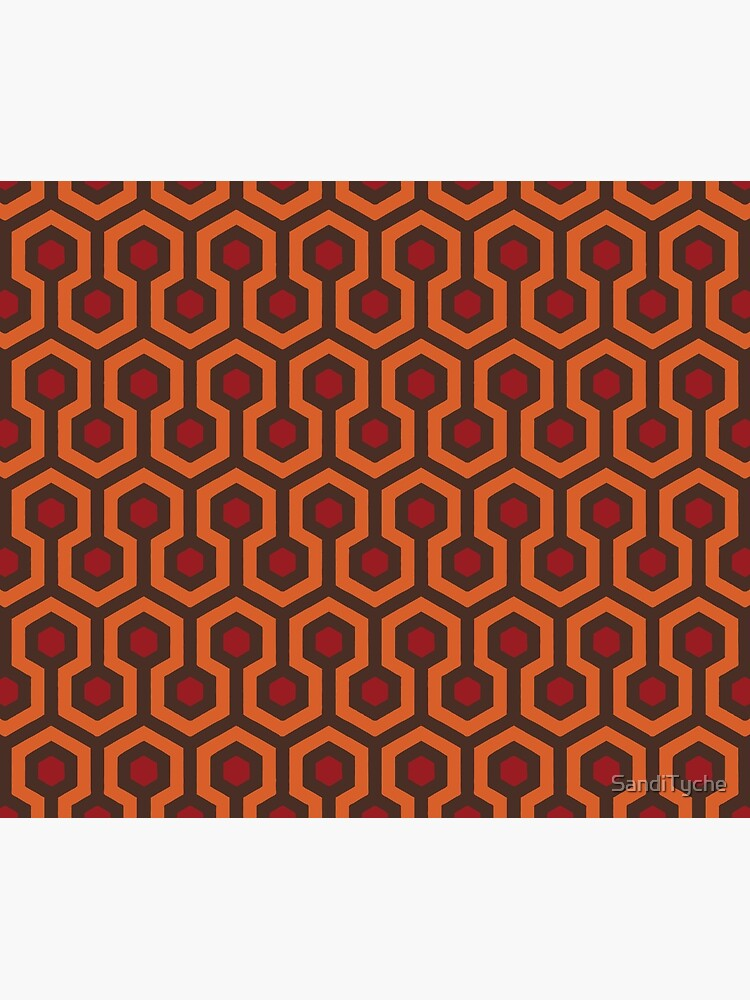 REDRUM Overlook Hotel Carpet Stephen King's The Shining by SandiTyche