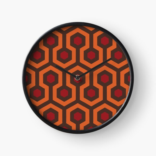 REDRUM Overlook Hotel Carpet Stephen King's The Shining Clock