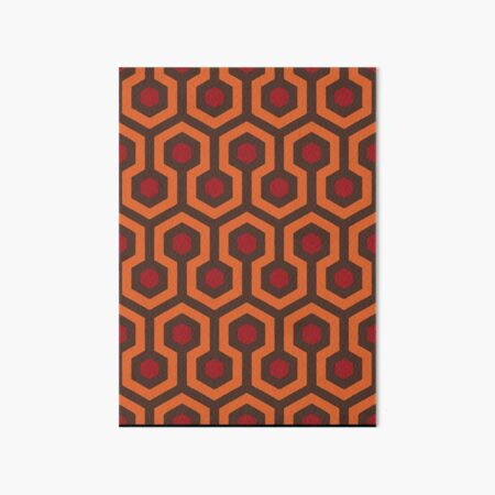 REDRUM Overlook Hotel Carpet The Shining Art Board Print