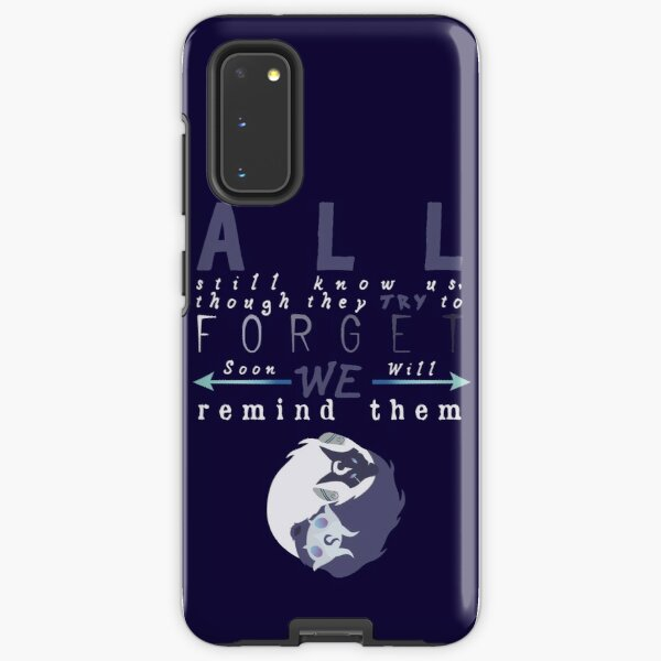 Kindred typography  Samsung Galaxy Tough Case