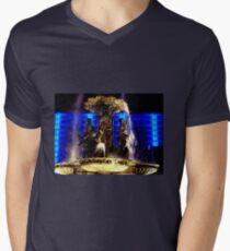Fountain Lights Men's V-Neck T-Shirt