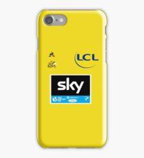 Team Sky Yellow Jersey 2017 - Le Tour De France iPhone Case/Skin