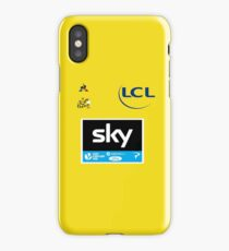 Team Sky Yellow Jersey 2017 - Le Tour De France iPhone Case/Skin