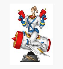 Earthworn Jim - Pinup Photographic Print