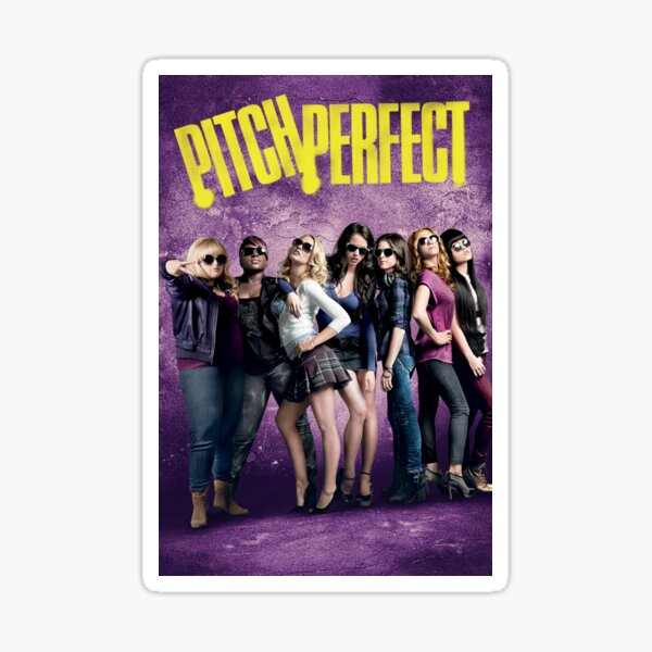 Pitch Perfect Poster Sticker