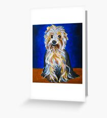 Mindy Portrait  Greeting Card