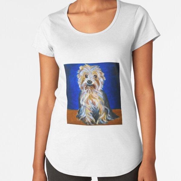 Mindy Portrait  Premium Scoop T-Shirt