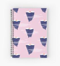 eggs air Spiral Notebook
