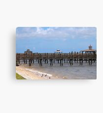 Peaceful Waterfront  Canvas Print