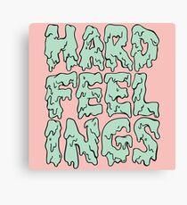 Hard Feelings  Canvas Print