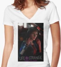 Chloe - Before the Storm - Life is Strange 1.5 Women's Fitted V-Neck T-Shirt