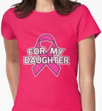 My daughter hoodie Womens Fitted T-Shirt