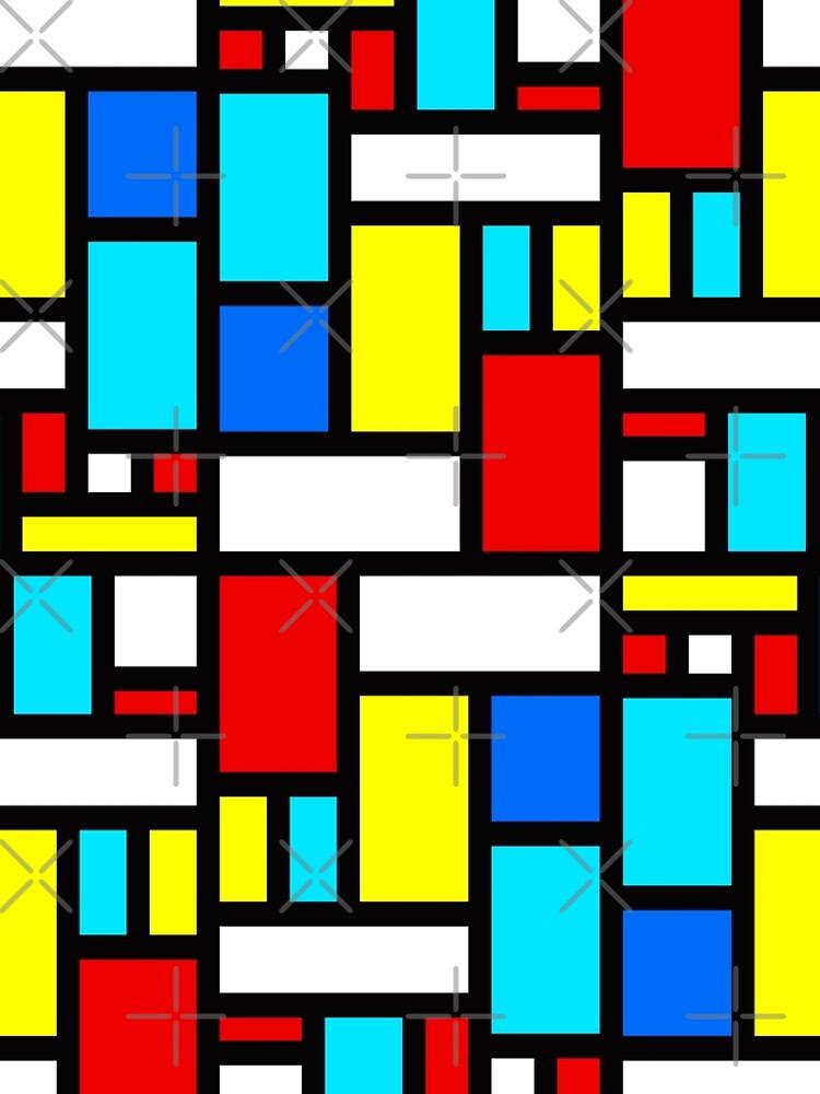 Bauhaus-esque Mid Century Modern 4 by Makanahele