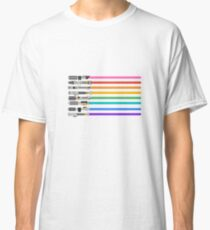 Pride Lightsabers Classic T-Shirt