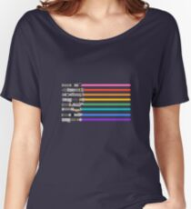 Pride Lightsabers Women's Relaxed Fit T-Shirt