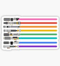Pride Lightsabers Sticker