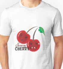 Scary Cherry Logo Unisex T-Shirt