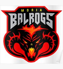 Balrog Lord of the Rings Moria Poster