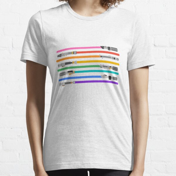 LGBT+ Lightsabers Essential T-Shirt