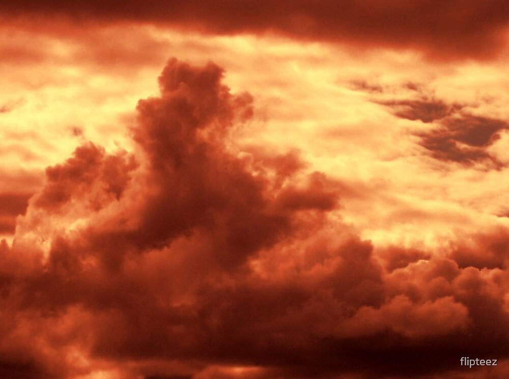 Beyond the dark cloud is HOPE by flipteez