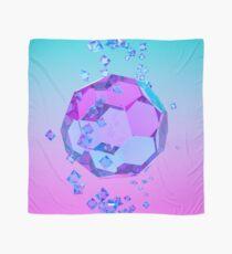Orbiting Gems Cyan Pink - 3D Design Scarf