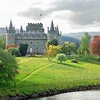 Inveraray-Schloss - Schottland von Arie Koene