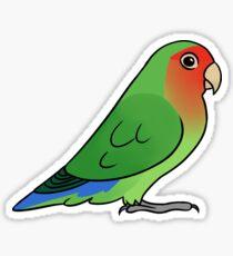 Lovebird Roseicollis Sticker